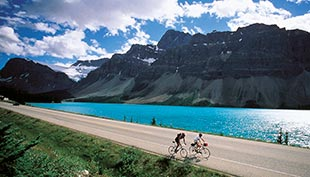 Canadian Rockies Biking Trip